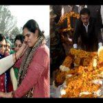 Maj sanjeev Lathar's last rites at jind in Haryana,