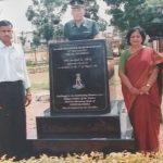 Memorial of Major sylvester Rajesh Ratnam