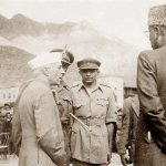 Brig Mohammad Usman with Jawaharlal Nehru