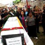 Major David Manlun's ,mortal remains at his house