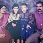 Naib Subedar Earappa SS with his family