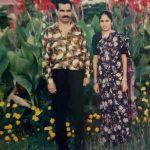 Naib Subedar Earappa with his wife