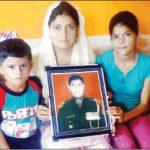 Family of Naib Subedar Ram Singh SM