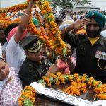 Naib subedar Paramjit Singh cremated with full military honours