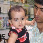 Naik Thimmaiah with his daughter Deeya