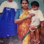 Naik Yashwanth Durgappa's wife and children