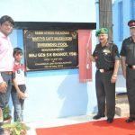 Swimming Pool inaugurated in the name of Capt Niiesh Soni
