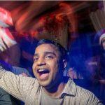 PO UW I Timothy Sinha in a celebratory mood