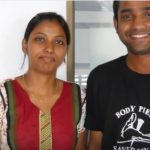 PO UW I Timothy Sinha with his sister