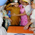 Nb Sub Paramjit Singh's son salutes his father