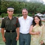 A young lt Udai on passing out day with his parents at IMA