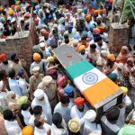 The last journey of Nb Sub Paramjit Singh