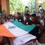 The last rites of Major Prasad Mahadik
