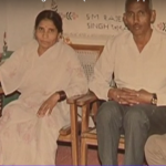 Naik Rambeer & his wife with his parents