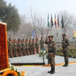 Army pays tribute at the memorial of Naik Jadunath Singh