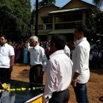 People paying their tributes to Sep Anil Kumar Kadam