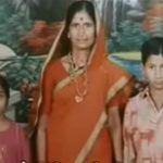 Sap Pramod Shivaji with his mother