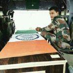 Sepoy Pawan Singh Sugra's mortal remains taken off to his village