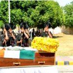 Soldiers pay homage to subedar Bhoop singh