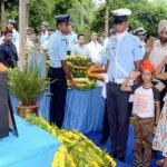 Family pays tribute to Wg cdr Mandeep singh Dhillon