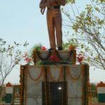 Statue of Subedar Harful Singh Kulhari in his honour