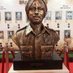 Statue of Subedar Ajit Singh MVC