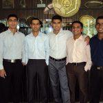 Fg Offr Suraj Pillai with his Friends