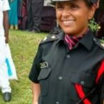 Lt Swati Mahadik wife of Santosh Mahadik
