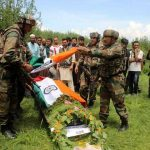 The Indian Army pays tribute to Lt. Ummer Fayaz
