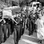 The last journey of Major P Shyam Sundar
