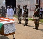 Army and Navy personnel pay their tributes to ME I Deuri