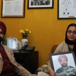 Parents of Captain Devinder Singh Jass