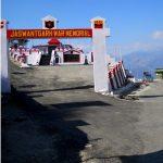 The war memorial of Rifleman Jaswant Singh Rawat
