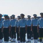Flying Officer Suraj Pillai during training days