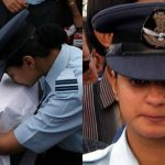 Flt Lt Serrao's wife Deepika Serrao