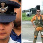 Flt Lt Serrao and his wife Deepika