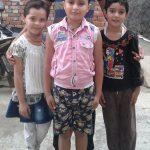 Sepoy Vishal Chaudhary's Kids