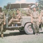 Col Kanwar Jaideep Singh SC and Bar, SM with his unit personnel