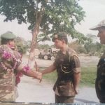 Col Kanwar Jaideep Singh at a field location