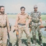 Col Kanwar Jaideep Singh as a young officer at a forward location