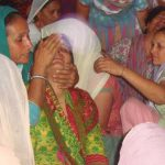 Rita, wife of Hav Satpal Bhasin at village Mufti near Jammu