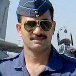 Wing Commander Oswald de Abreu , Flight Commander of the 222 Sqn