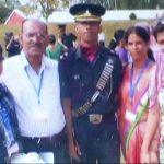 Capt Ayush Yadav with his family at passing out of IMA