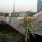 Flt Lt Achudev's Sukoi-30 remains