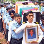 Flt Lt S Achudev's Last Journey