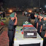 Comrades pay last respects to Lance Naik Sam Abraham
