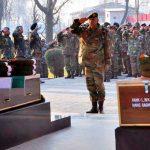Final Military Honours to Sep Raghubeer Singh