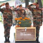 Final salute to Sepoy Tanzin Chhultim