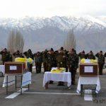 Army's last salute to Rfn Sunil Rai & Lance Hav Bhuwan Tamang