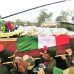 Major Satish Dahiya's last journey